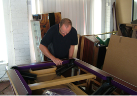 Pool table recover process 1 - small