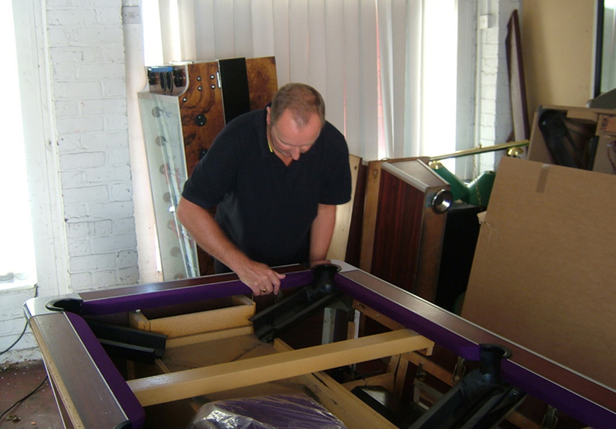 Pool table recover process 1