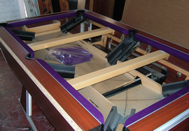 Pool table recover process 2 - small