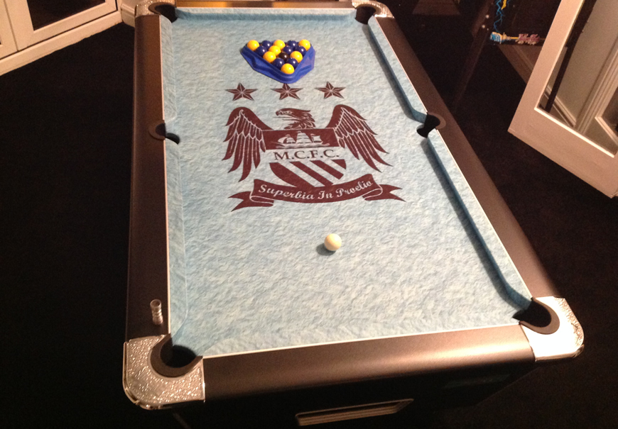 Pool table recover process 4
