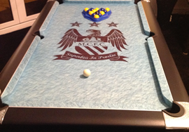 Pool table recover process 5  - small