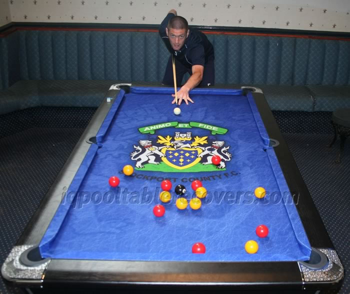 Pool table recover process 9