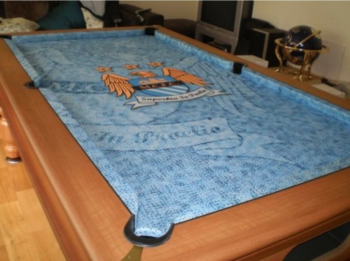 Pool Table Logo Cloth Recover