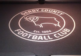 Pool Table Derby County Football Recover
