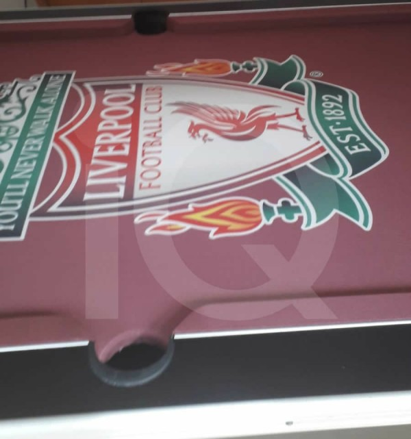 Pool Table Liverpool Football Cloth Recover