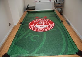 Pool Table Aberdeen Football Recover