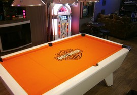 Logo Cloth Recover Pool Table