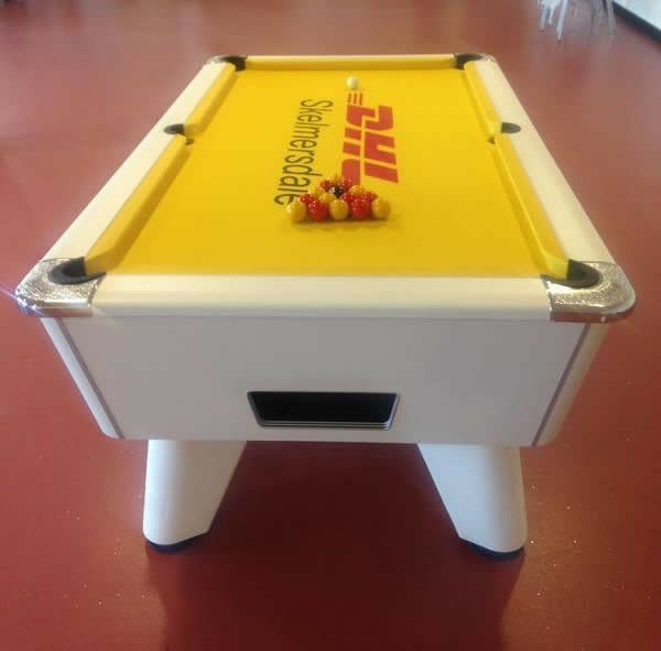 Pool Table DHL Logo Recover