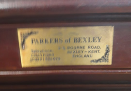 10ft Parkers of Bexley Snooker Table Before Recover