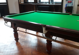 10ft Parkers of Bexley Snooker Table Recover