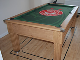 Aberdeen Football Club Pool Table Recover