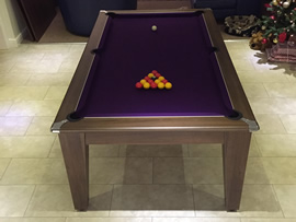 Recovering a Pool Table in Doncaster, South Yorkshire