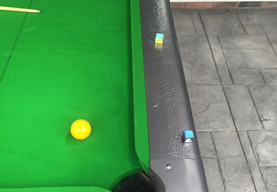 Grey Nylon Elite Pro Pool Table Recover