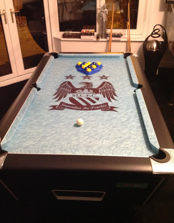Manchester City Pool Table Recover