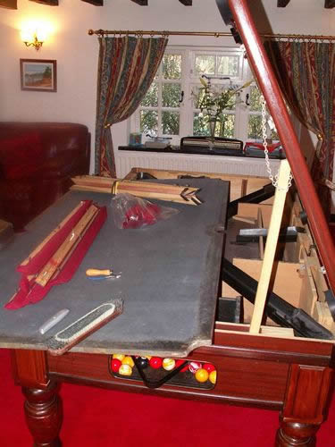 Pool Table Recover Parts