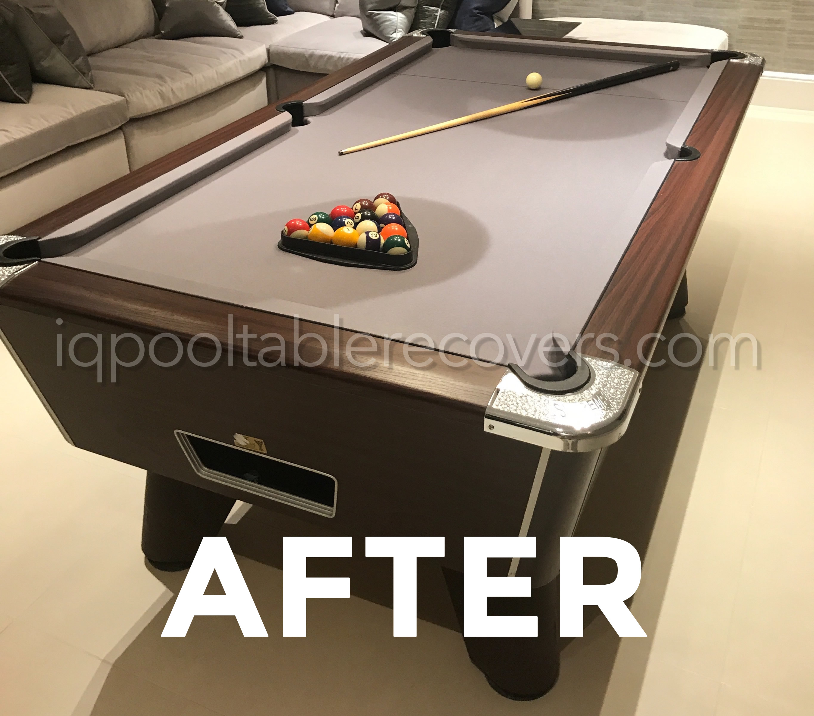 Ft Freeplay Supreme Winner Pool Table Recover By IQ - Billiard table recovering