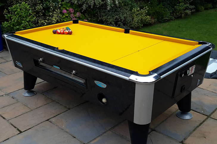 Recent pool table recover by IQ Pool Tables