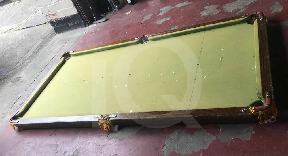 5ft Atlas slate bed table top snooker table recover