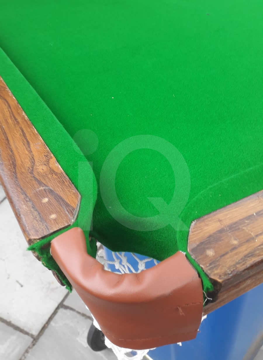 5ft Atlas slate bed table top snooker table recover image 3