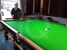 Full Size Snooker Table Recover by IQ