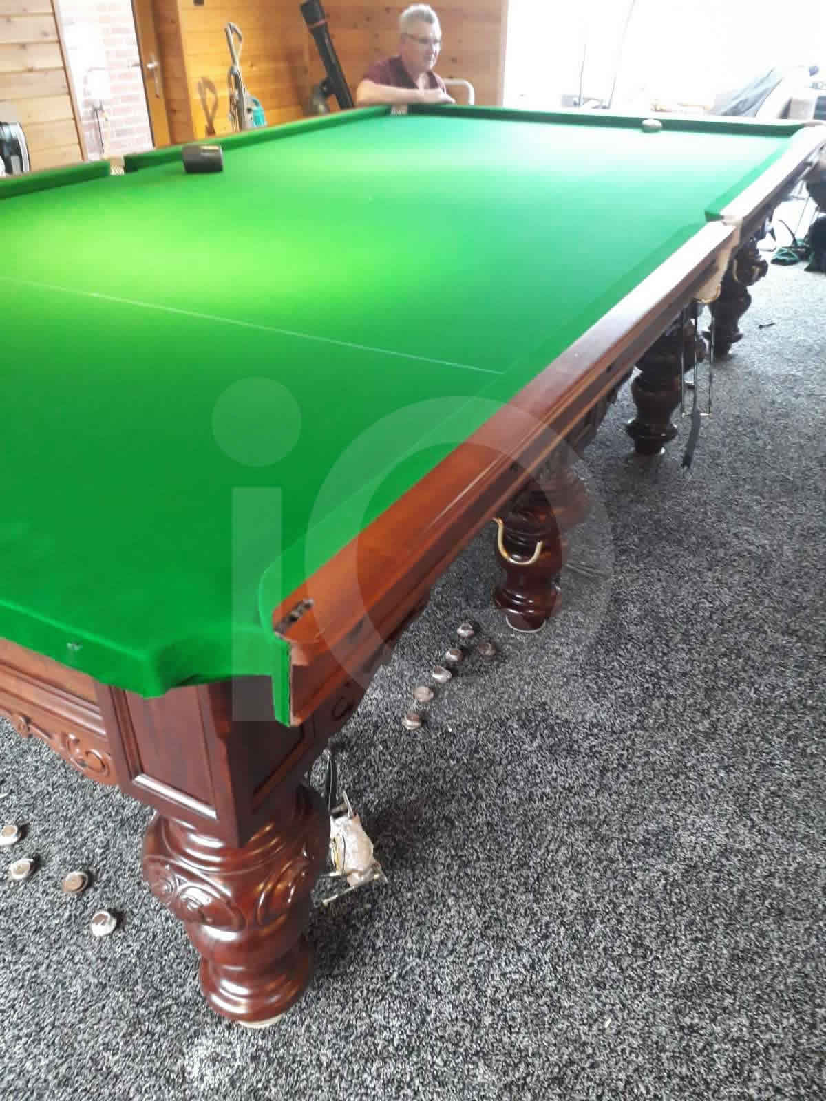 Snooker table recovered by IQ