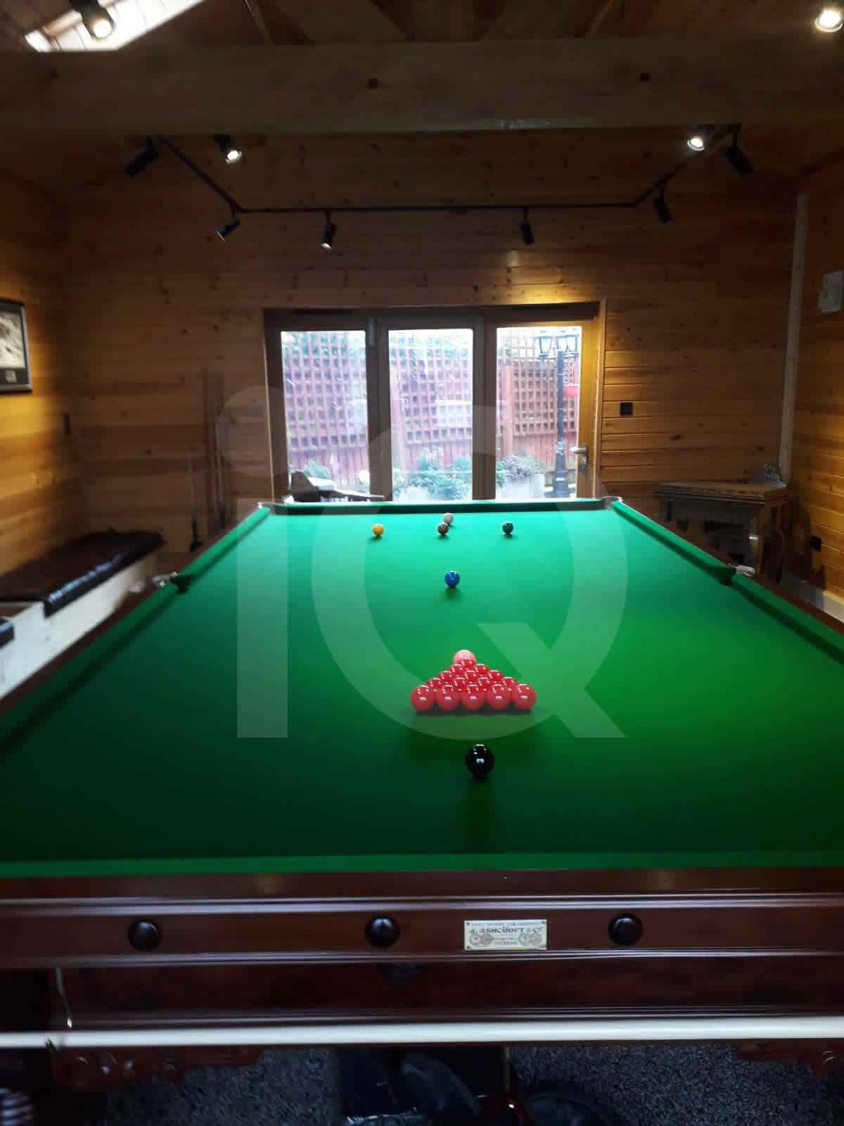 Snooker table install by IQ