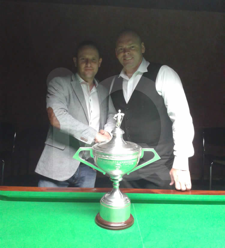 Snooker Exhibition by Stuart Bingham