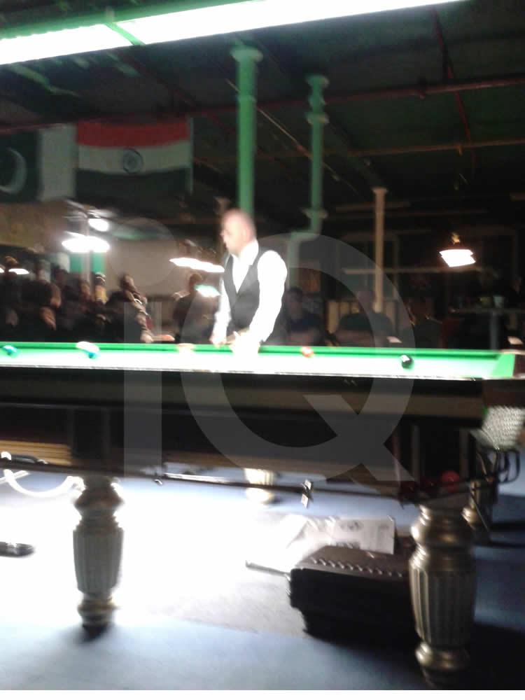 A  Snooker Exhibition by Stuart Bingham