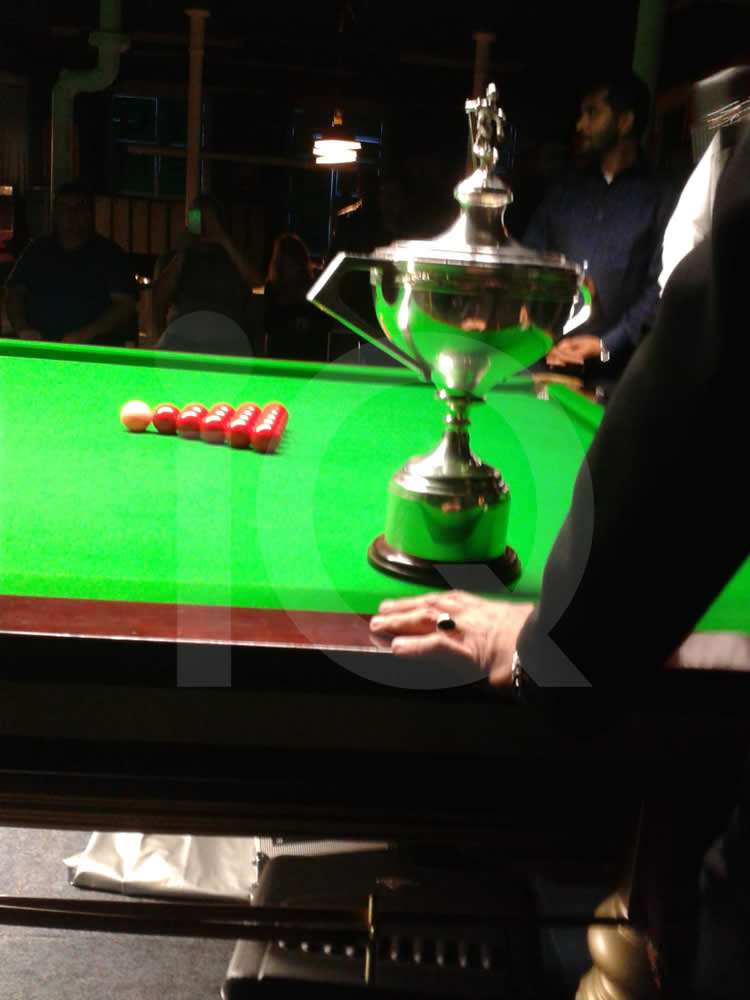 Small Snooker Exhibition by Stuart Bingham