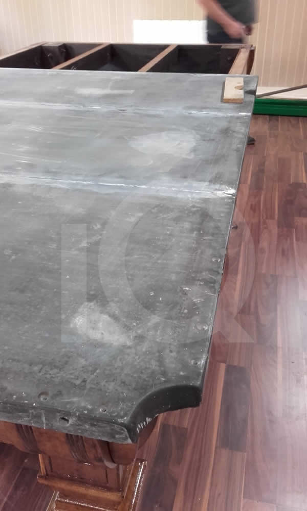 Snooker table installation by IQ