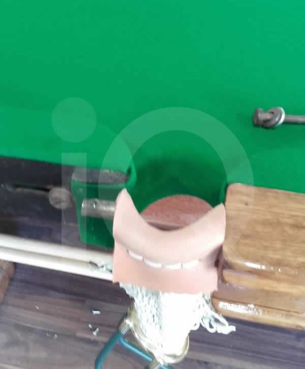 Recent installation of a new snooker