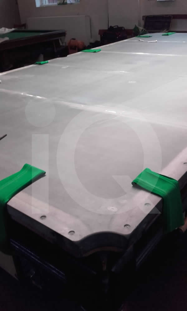 Snooker Table Recover in Green Cloth