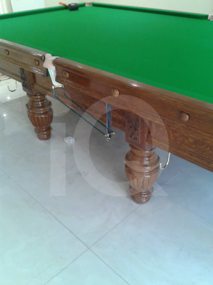 A Snooker Table Recover job in Green