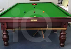 Recent Relocation of a Classic Riley Aristocrat Snooker Table by IQ