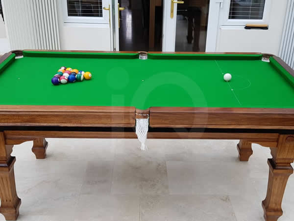 Recent recover of Snooker Table by IQ