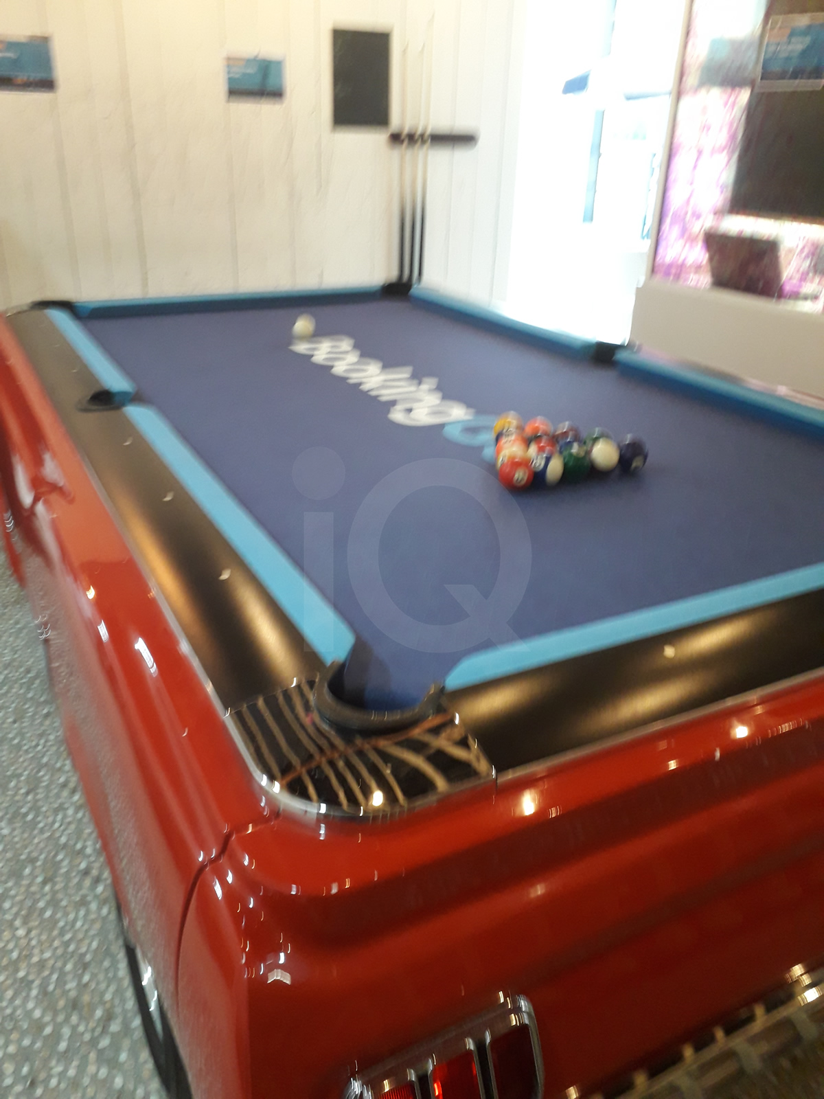 Recover of an  American Mustang Car with a Pool Table Top After Image 9