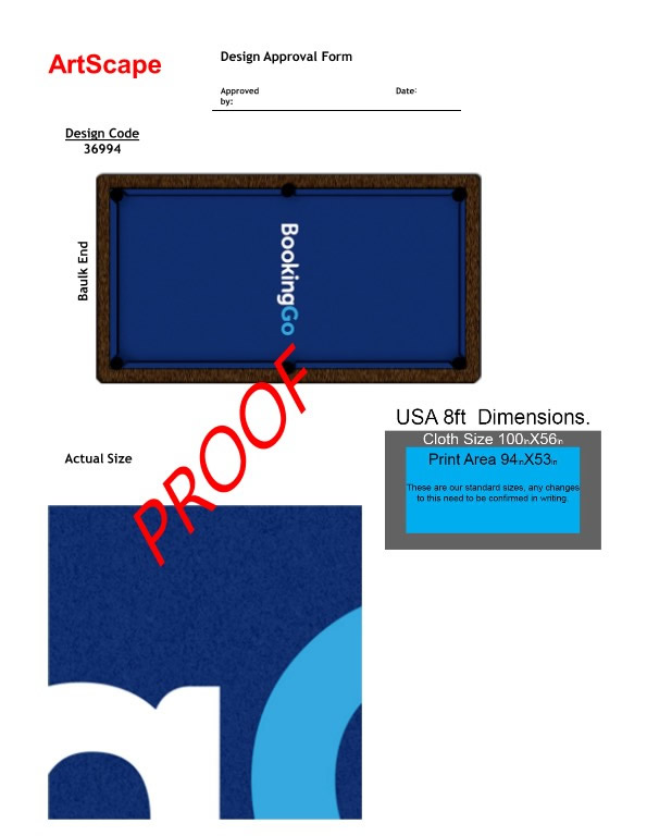 Recover of an  American Mustang Car with a Pool Table Top PDF Design 1