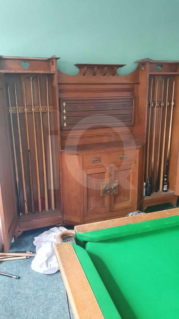 Recover of a Classic Old Orme & Sons Snooker Table  After Image 1