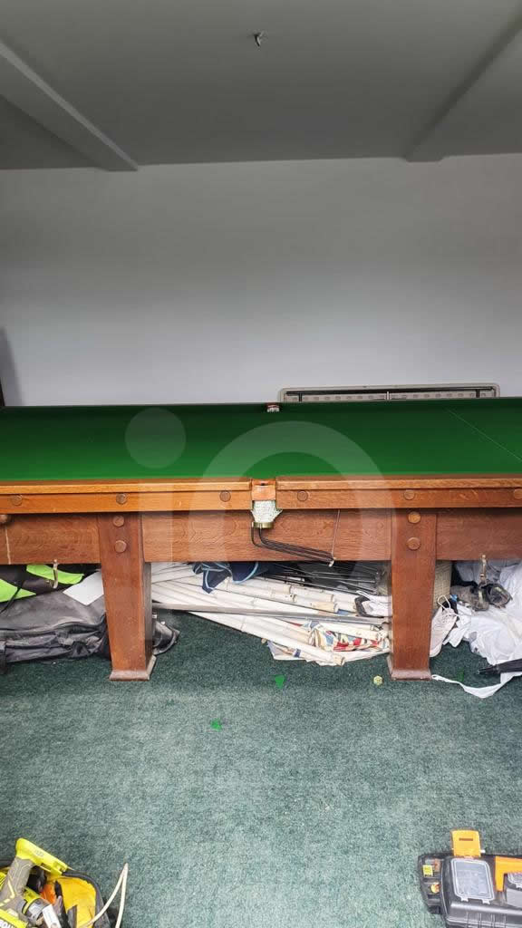 Recover of a Classic Old Orme & Sons Snooker Table  After Image 2