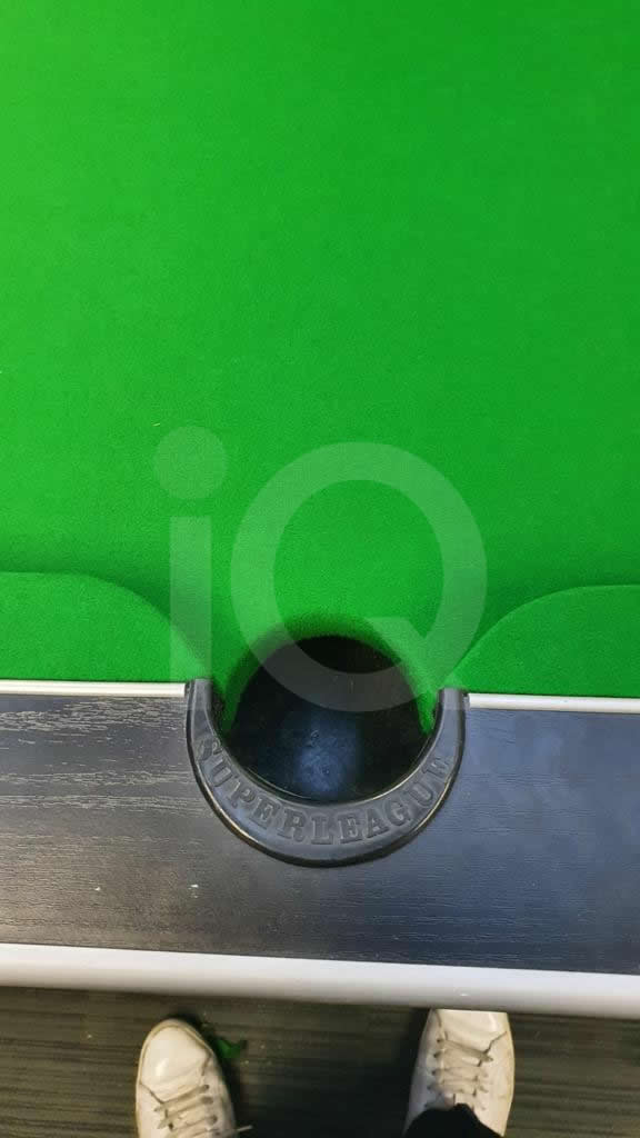 Recover of Green napped Hainsworth Cloth and Re Rubbering of a 7ft Older Style HGM Pool Table After Image 12
