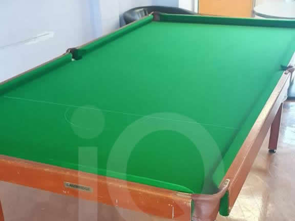 Recent recover of Wooden Bed Snooker Table by IQ