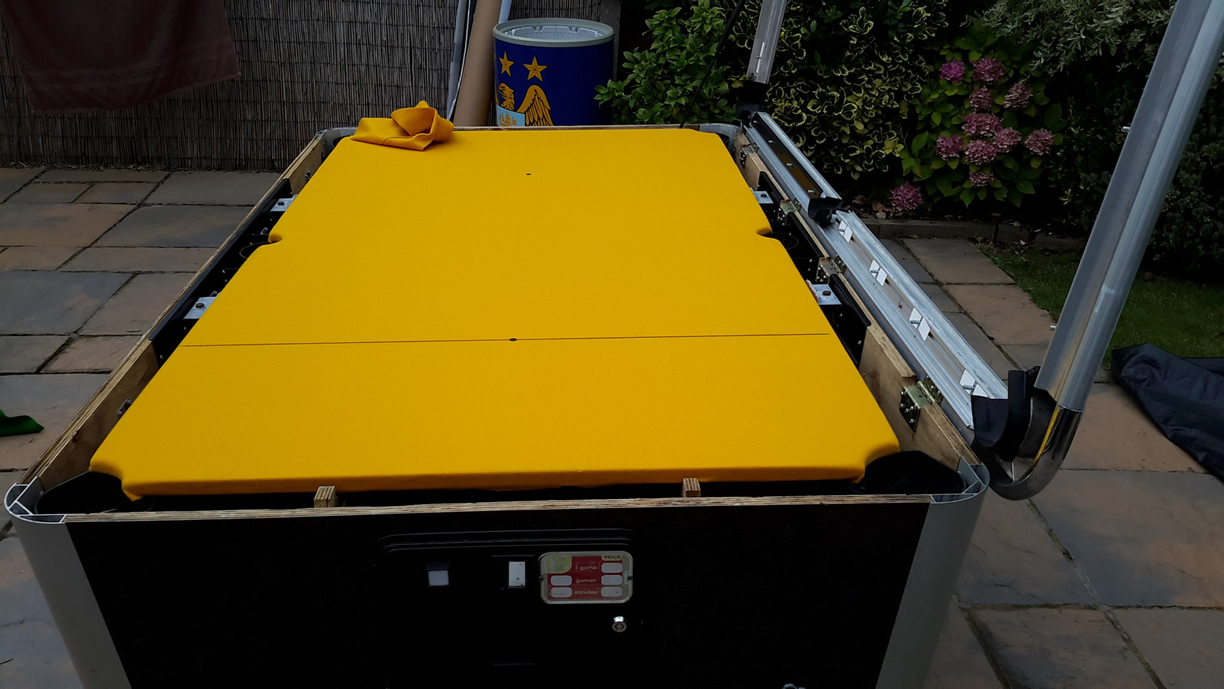 Sam Leisure Pool Table Recover by IQ Pool Tables Photo 84