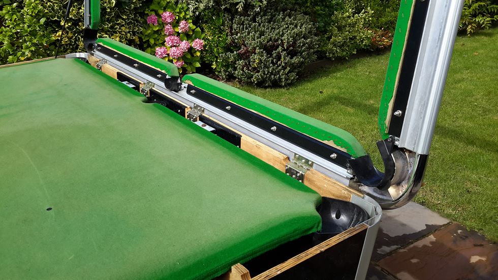 Sam Leisure Pool Table Recover by IQ Pool Tables Photo 37
