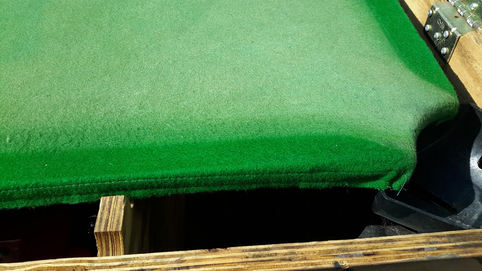 Sam Leisure Pool Table Recover by IQ Pool Tables Photo 40