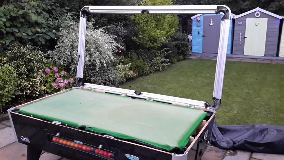 Sam Leisure Pool Table Recover by IQ Pool Tables Photo 49