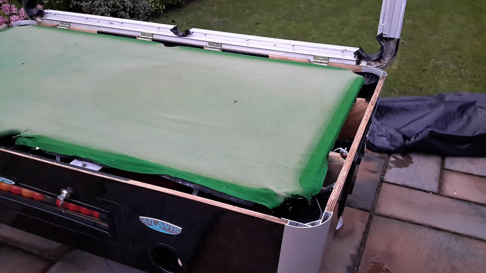 Sam Leisure Pool Table Recover by IQ Pool Tables Photo 50