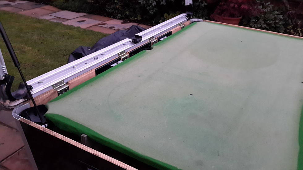Sam Leisure Pool Table Recover by IQ Pool Tables Photo 51