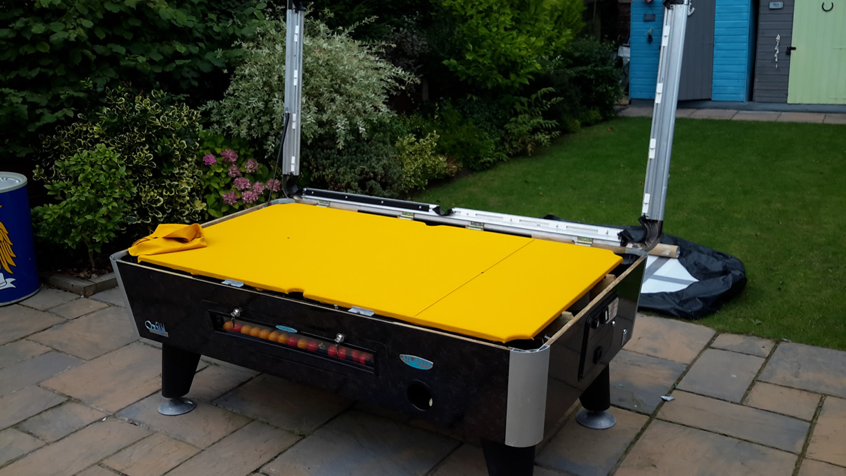Sam Leisure Pool Table Recover by IQ Pool Tables Photo 86
