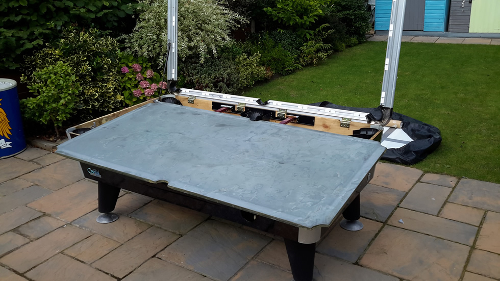 Sam Leisure Pool Table Recover by IQ Pool Tables Photo 60