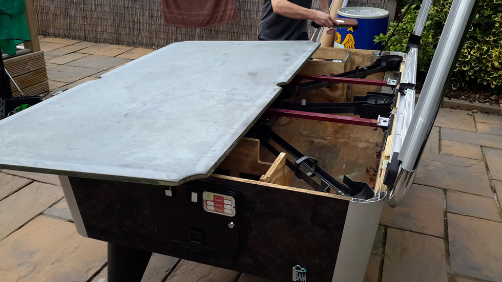 Sam Leisure Pool Table Recover by IQ Pool Tables Photo 61